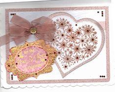 Christmas card using Chloe snowflake heart Birthday Numbers, Snowflakes, Chloe, Christmas Cards, Heart, Frame, Home Decor, Christmas E Cards, Picture Frame