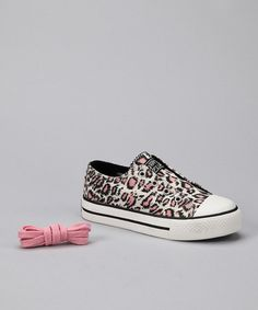 Take a look at this Pink Zoo Sneaker by Skip in Style: Kids' Sneakers on #zulily today!