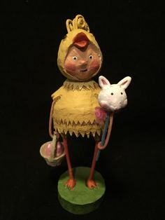PEEP SHOW by Lori Mitchell ~ Easter / Spring ~ Collectible Figurine - Resin MINT