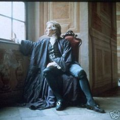 """1994 - Alan Rickman as Franz Anton Mesmer in the movie """"Mesmer."""""""