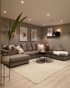 Classy Living Room, Living Room Decor Cozy, Home Living Room, Interior Design Living Room, Living Room Designs, Modern Living Room Design, Beige Living Rooms, Bedroom Decor, Living Room Goals