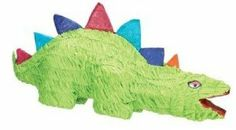 "Ya Otta Pinata Green Dino by Ya Otta Pinata. $7.88. Sold as: Each. Manufacturer #: 12945.. YA OTTA PINATA GREEN DINO (12945).Ya Otta Pinata. Pinatas always provide a fun time at any kid's birthday party or themed party. What's better than watching your child beat a pinata with their eyes blindfolded? We call that priceless. Bright colors.Holds 2 lbs. of candy.23"" Long or high."