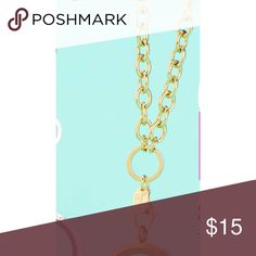 Gold Origami owl chain It is the 32 inch chain. Its clunky and super cute.m Jewelry Necklaces
