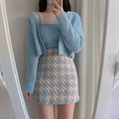 A story about girl name y/n. She has only one important person in her… #fanfiction #Fanfiction #amreading #books #wattpad Korean Fashion Dress, Ulzzang Fashion, Kpop Fashion Outfits, Girls Fashion Clothes, Mode Outfits, Cute Skirt Outfits, Girly Outfits, Cute Casual Outfits, Pretty Outfits