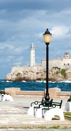 Stunning castle & lighthouse of El Morro, a symbol of the city of Havana, Cuba | Copyright Kamira / amongraf.ro / shutterstock