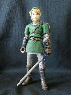 legend of zelda action figures | toycutter: Link action figure (Legend of Zelda)