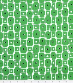 Country Club Classics- Dots & Interlocking Squares Green Twill : Fashion Collections : apparel fabric : fabric :  Shop | Joann.com