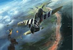 20 best history images on pinterest military aircraft military flying on a special d day by julien lepelletier june 1944 and a republic thunderbolt flies over utah beach on an escort mission fandeluxe Gallery