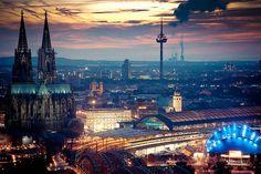 Koln, Germany - byFlickr user b_juhasz. http://www.flickr.com/photos/b_juhasz/6108275771/in/faves-_jamesc/