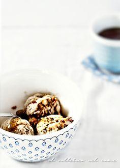 coppa del nonno con amaretti senza gelatiera Nigella, Granite, Breakfast, Food, Morning Coffee, Granite Counters, Essen, Meals, Yemek