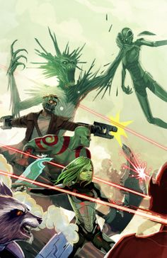 Magneto #6 - Guardians of the Galaxy variant cover by Stephanie Hans *