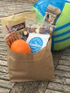 Need to pack snack bags for half time? We used a paper bag that we cut down so there was a built in place for trash and of course tuck a Handzie in each bag because at halftime who has time to find the bathroom? Snack Bags, Some Ideas, Keep It Cleaner, Essential Oils, Soap, Snacks, Bathroom, Natural, Paper