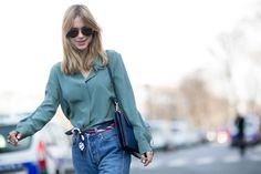 Неделя моды в Париже F/W 2015: street style. Часть 4 (фото 14)