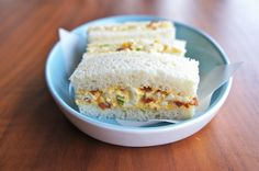 Seasaltwithfood: Bacon And Egg Tea Sandwiches