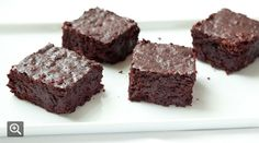 Chocolate, Orange and Beet Brownies