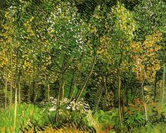 Vincent van Gogh: The Grove, 1890.