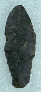 Paleo Cougar Mountain projectile point 57b