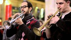 Flashmob Orchestres en fête ! Paris North station - Arlésienne de Bizet ...