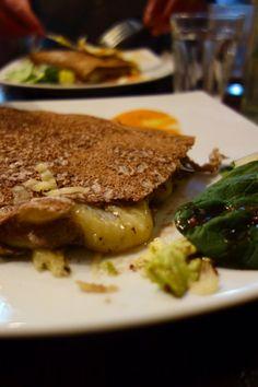 Cheese Crepe @ Senzala Creperie in Brixton Village