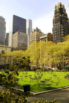Come to Bryant Park in NYC to relax and take a break from the hustle and bustle. Duane Reade has everything you need to explore NYC.