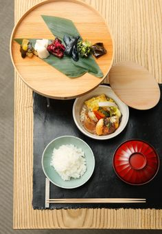 Japanese meal - Simplicity, elegance, food as an experience beyond the obvious.