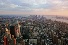 manhattan-new-york-city-skyline The most densely populated area of New York and probably also in the United States offers some of the most amazing views. This image captures the essence of this busy city.