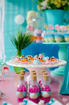 Swimming around for an underwater adventure? A mermaid birthday adventure at Kara's Party Ideas with mermaid party sweets and ombre cake to make it perfect! Mermaid Birthday, Birthday Parties, Sweets, Portal, Table Decorations, Party Ideas, Birthday Party Ideas, Ideas Para Fiestas, Mermaid