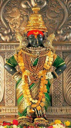 Rukmini Devi, Krishna´s wife, Temple in Pandharpur, Maharastra, India Krishna Love, Krishna Radha, Lord Krishna, Hanuman, Indian Goddess, Goddess Lakshmi, Om Namah Shivaya, Lord Vishnu Wallpapers, Hindu Deities
