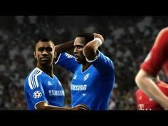 PES 2012 UEFA Champions League   Chelsea vs Bayern Munich   FINAL