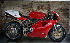 1999 to 2002 Italian Ducati Sport Motorcycle. Ducati 996, Moto Ducati, Ducati Superbike, Ducati Motorcycles, Garage Bike, Bike Brands, Chopper Bike, Ducati Monster, Sportbikes