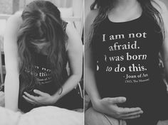I am not afraid. I was born to do this. - Joan of Arc // Jennifer Christi Photography // www.jenniferchristi.com // home birth, water birth, labor,