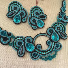 I want to dive in deep turquoise... #doricsengeri #turquoise #aqua #jewelry…