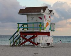 The Famous Miami Beach Lifeguard Towers - Growing Up Bilingual
