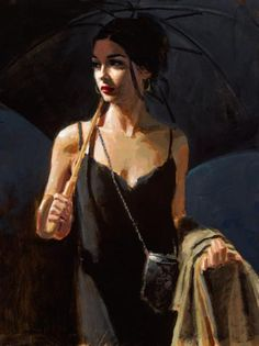 Fabian Perez Night Walk IV print for sale. Shop for Fabian Perez Night Walk IV painting and frame at discount price, ships in 24 hours. Fabian Perez, Tattoo Aquarelle, Pinturas Art Deco, Local Art Galleries, Pulp Art, Paintings For Sale, Amazing Paintings, Portrait Art, Illustrations