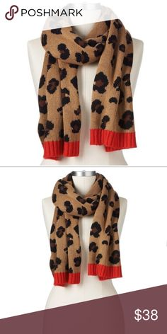 Spotted while shopping on Poshmark: Juicy Couture Brown Leopard Muffler Scarf NWT! #poshmark #fashion #shopping #style #Juicy Couture #Accessories