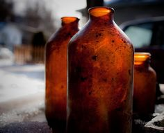 elorablue:    Brown Bottle Breakfast by PhilipJWalter on Flickr.
