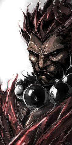 """Akuma (in Japanese, """"Devil"""" or """"Demon"""") known in Japan as Gouki (豪鬼 Gōki? Akuma (in Japanese, """"Devil"""" or """"Demon"""") known in Japan as Gouki (豪鬼 Gōki? """"Great Demon"""") Akuma made his debut in Super Street Fighter II Turbo a. Street Fighter Video Game, Street Fighter Characters, Super Street Fighter, Wallpaper Gamer, Wallpaper Animes, Street Fighter Wallpaper, Street Fighter Tekken, Snk King Of Fighters, Super Anime"""