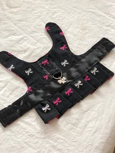 Bow Dog Harness Dress