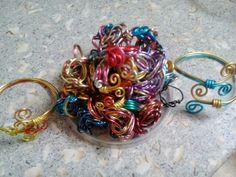 Anillos de alambre. / Wire rings
