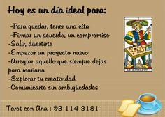 Ana Tarot: DIA IDEAL PARA....