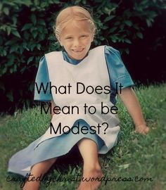 The moment I stepped in to my pre-teen and teen years, every Bible study, Christian book, blog post, etc. overwhelmed me with the concept of modesty. Cover up! Cover up! Cover up! Bikinis are sinfu…