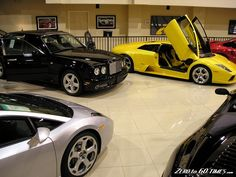 Expensive Car Collection | Expensive Car Dealer Showrooms ...