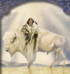 'White Buffalo of Peace'....    Delightful!  Cookie  :)