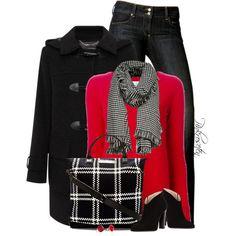 """Duffle Coat"" by pinkroseten on Polyvore"