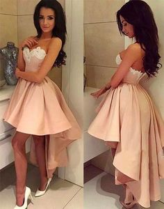 homecoming dress,high-low homecoming dress,new fashion homecoming dress for teens