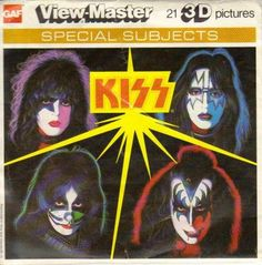 Remember ViewMaster? Rememebr KISS?!!  Preserve your memories at http://www.saveeverystep.com