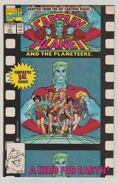 Captain Planet and the Planeteers Vol 1 1 by RubbersuitStudios #captainplanet #nealadams #comicbooks