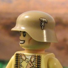 Brickforge German Akrika Korps Accessory Pack for Lego Minifigures WW2 NEW