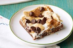 Grilled S'mores Brownies