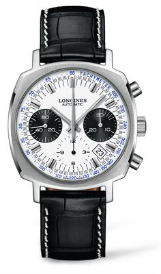 Longines Heritage 1973 silvered dial